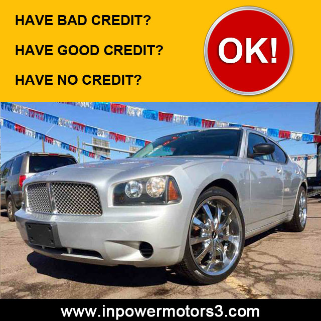 Bad Credit Car Dealership Phoenix No Credit In Power