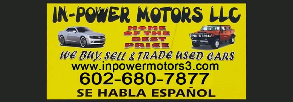 Bad Credit Car Dealerships Near Me >> 500 Down Cars | Phoenix | Quality Used Vehicles - In-Power Motors 3